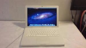 Used Macbook with Core 2 Duo Processor, DVD, Webcam, Wireless