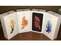 APPLE IPHONE 6S 16GB BRAND NEW SEAL BOX 12 MONTH APPLE WARRANTY & SHOP RECEIPT