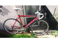"""Kona Road Bike, Size 22"""" 56cm, Shimano Ultegra and 105 with Sl pedals and shoes"""