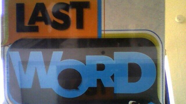 LAST WORD - The race to have the final say! By Buffalo Games