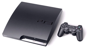 PS3 PlayStation 3 Slim, 250GB + Controller, Games
