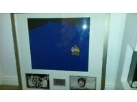 Genuine signed George Best 1968 shirt with coa