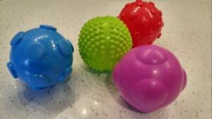 Set of 4 Sensory Toy Balls