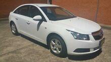 2010 Holden Cruze JG CD White 6 Speed Auto Sports Mode Sedan Yagoona Bankstown Area Preview