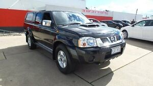 2013 Nissan Navara D22 Series 5 ST-R (4x4) Black 5 Speed Manual Dual Cab Pick-up Belconnen Belconnen Area Preview