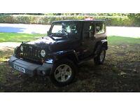 JEEP WRANGLER 2.8 SAHARA 2DR Automatic (black) 2008