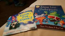2 kid's books excellent condition