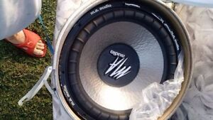 MA AUDIO 1500XL COMPETITION SUBS (NEW , PAIR) Cornwall Ontario image 1