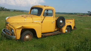 1952 Inernational 1/2 ton Truck, was SK Registered