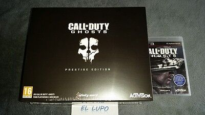CALL OF DUTY GHOSTS PRESTIGE EDITION COLLECTOR PS3 NEUF SOUS BLISTER VF