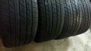 AllSEASON / SUMMER TIRES  245/50/17   ($150..SET OF 4)
