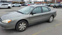 2003 Ford Taurus for Sale - Great milage + Hitch - Selling As Is