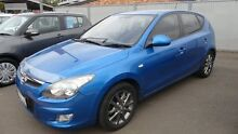 2010 Hyundai i30 FD MY11 SLX Blue 4 Speed Automatic Hatchback Toowoomba Toowoomba City Preview