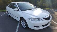 2002 Mazda 6 GG Classic White 5 Speed Manual Sedan Condell Park Bankstown Area Preview