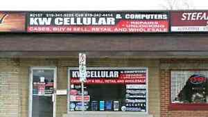 KW Cellular, Cell Phone, Ipod, Tablet Repair and unlocking.. Kitchener / Waterloo Kitchener Area image 1