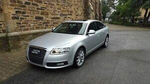 2009 Audi A6 4F MY09 2.7 TDI Silver 7 Speed CVT Multitronic Sedan Kent Town Norwood Area Preview