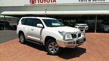 2010 Toyota Landcruiser Prado KDJ150R GXL (4x4) Glacier White 5 Speed Sequential Auto Wagon Dubbo 2830 Dubbo Area Preview