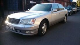 1999 LEXUS LS 400..1 PREVIOUS OWNER .AUTOMATIC