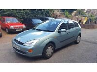 ford focus automatic 1.6 cc mot n tax till march 2017 in good condition.