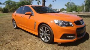 2013 Holden Commodore VF MY14 SS V Orange 6 Speed Sports Automatic Sedan Winnellie Darwin City Preview