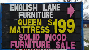 new queen mattress----$199