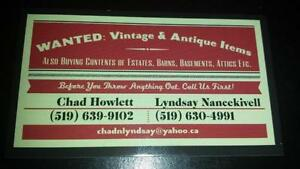 BUYING Contents of Estates/Barns/Attics/Basements-Anything Old! Stratford Kitchener Area image 1