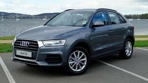2015 Audi Q3 8U MY16 TFSI S tronic Grey 6 Speed Sports Automatic Dual Clutch Wagon Hobart CBD Hobart City Preview