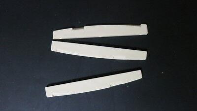Plastic Bridge for  Acoustic Guitar-Creme-Volume pricing-3per unit-item bri01vol