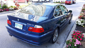 2001 BMW 3-Series 330ci Coupe *RARE* Topaz Blue M-Sport package