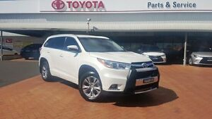 2014 Toyota Kluger GSU55R GXL (4x4) Crystal Pearl 6 Speed Automatic Wagon Dubbo Dubbo Area Preview