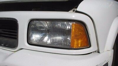 1995 1997 Gmc Jimmy Left Drivers Composite Headlight W Mounting Panel Oem