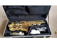 Alto Saxophone, used once only.