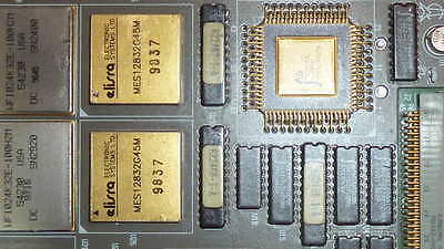 Used Board With Gold Cpu On It 622461-001 Unbranded Connector Ceramic Ic Mil Spc