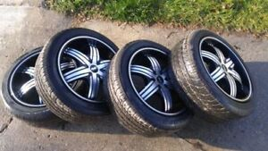 Clean 17 inch Ave Rims w/ Super Sport Tires 205/50/R17