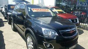 2012 Holden Captiva Black Manual Wagon Dandenong Greater Dandenong Preview