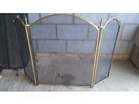 Brass with black/charcoal screen