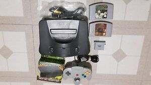 N64 Console + Games