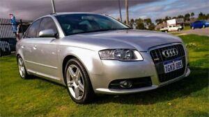 2008 Audi A4 B7 2.0 Silver CVT Multitronic Sedan Rockingham Rockingham Area Preview