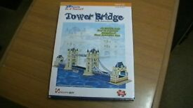 3-D Puzzle Tower Bridge