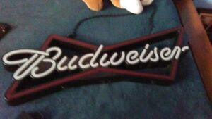 Budweiser bow tie neon LED light$200 reduced