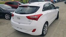 2013 Hyundai i30 GD Active White 6 Speed Sports Automatic Hatchback Buderim Maroochydore Area Preview