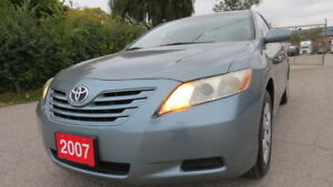 2007 Toyota Camry LE in good condition. Certified