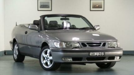 2001 Saab 9-3 MY2001 S Grey 4 Speed Automatic Convertible Artarmon Willoughby Area Preview