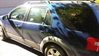 2005 Ford FreeStyle/Taurus X grey SUV, Crossover