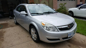2009 Saturn Aura XR Sedan 4 Cyl good on gas