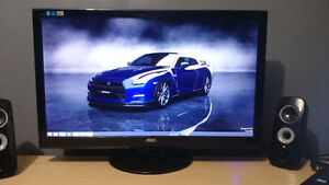 """Selling a great gaming monitor! IPS AOC 27"""". Like New!"""