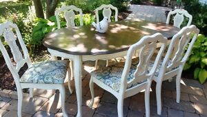 Lovely Painted French Provincial Dining Set-Classic!