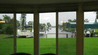 Port Charlotte,Florida home on Canal only 500./week or 1500./mos