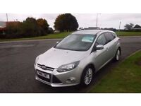 Ford Focus 1.6TDCi 2012(61) Zetec,1 Owner,Full Ford Hstory,Alloys,Air Con