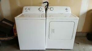 Used Amana Top Load Washer/Dryer OBO